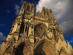 Reims Caedral - flickr:Chi King