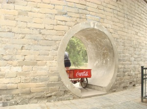 Cart in the Temple of Heaven
