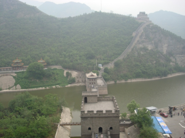 I took this photo of Great Wall of China outside of Beijing.